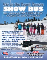 Win a Free Ski Day with Coach Canada Snow Bus!