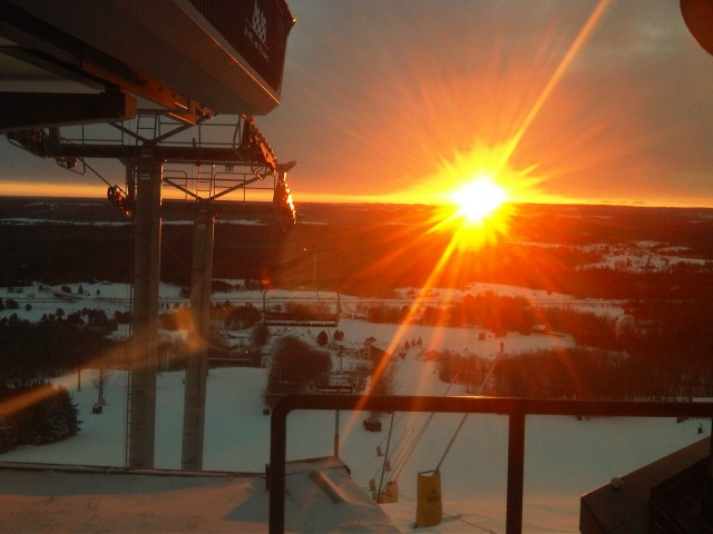 Sunrise at the Summit 6 Express Jan 2012