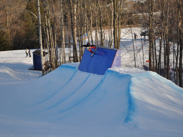 Terrain Parks, Shredders and Family Day 2012