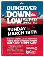 8th Annual Quiksilver Down Low Super Slopestyle