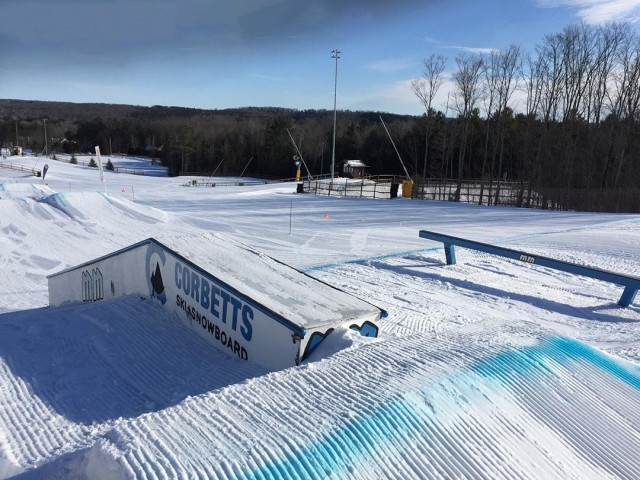 Corbett's Rail Jam starts January 12th