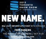 MSLM at the NEW Toronto Snow Show Oct 17 -20