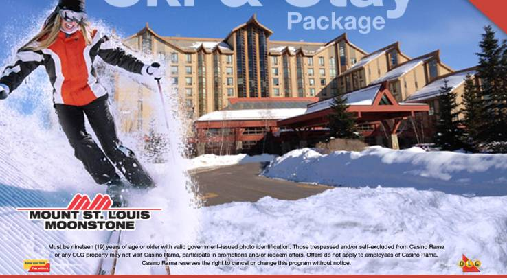 WIN a Ski & Stay Package to Casino Rama at Toronto Snow Show